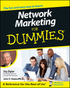 Network Marketing For Dummies (0764552929) cover image