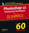 Photoshop® CS Timesaving Techniques For Dummies® (0764567829) cover image
