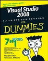 Visual Studio 2008 All-In-One Desk Reference For Dummies (1118052129) cover image