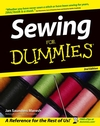 Sewing For Dummies, 2nd Edition (1118054229) cover image