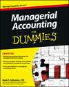 Managerial Accounting For Dummies (1118116429) cover image