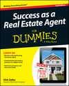 Success as a Real Estate Agent For Dummies, 2nd Edition (1118721829) cover image