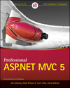 Professional ASP.NET MVC 5 (1118794729) cover image