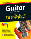 Guitar All-In-One For Dummies, Book + Online Video & Audio Instruction, 2nd Edition