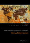 The Wiley International Handbook of Clinical Supervision (1119943329) cover image