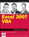 Excel 2007 VBA Programmer's Reference (047014422X) cover image