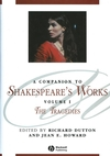 A Companion to Shakespeare's Works, Volume I: The Tragedies (063122632X) cover image