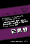 Blackwell's Five-Minute Veterinary Consult: Laboratory Tests and Diagnostic Procedures, Canine and Feline PDA (081381782X) cover image
