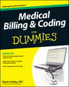 Medical Billing and Coding For Dummies (111802172X) cover image