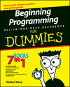 Beginning Programming All-In-One Desk Reference For Dummies (111805122X) cover image