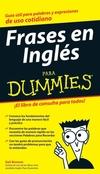 Frases en Inglés Para Dummies (111806822X) cover image
