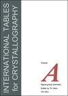 thumbnail image: International Tables for Crystallography, 8-Volume Set, 3rd Edition, Updated January 2012