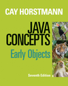 Java Concepts: Early Objects, 7th Edition (111843112X) cover image