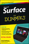 Surface For Dummies (111853462X) cover image