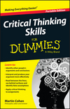 Critical Thinking Skills For Dummies (111892472X) cover image