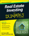 Real Estate Investing For Dummies, 3rd Edition (111894822X) cover image