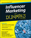 Influencer Marketing For Dummies (111911392X) cover image