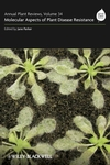 Annual Plant Reviews, Volume 34, Molecular Aspects of Plant Disease Resistance (140517532X) cover image