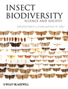 Insect Biodiversity: Science and Society (144430822X) cover image