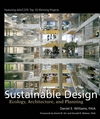 Sustainable Design: Ecology, Architecture, and Planning (0471709530) cover image