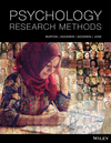 Psychology Research Methods, 1st Edition (0730344630) cover image