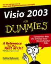 Visio 2003 For Dummies (0764559230) cover image