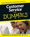 Customer Service For Dummies, 3rd Edition (1118052730) cover image