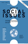 Journal of Social Issues, Volume 69, Number 3, 2013, Uncertainty and Extremism (1118843630) cover image