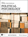 Political Psychology: A Social Psychological Approach (1118929330) cover image