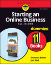 Starting an Online Business All-in-One For Dummies, 5th Edition (1119315530) cover image
