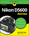 Nikon D5600 For Dummies (1119386330) cover image