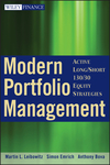 Modern Portfolio Management: Active Long/Short 130/30 Equity Strategies (0470398531) cover image