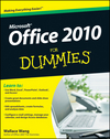 Office 2010 For Dummies (0470634731) cover image