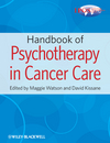 Handbook of Psychotherapy in Cancer Care (0470660031) cover image
