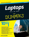 Laptops All-in-One For Dummies, 2nd Edition (0470768231) cover image