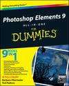 Photoshop Elements 9 All-in-One For Dummies (0470880031) cover image