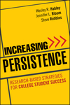 Increasing Persistence: Research-based Strategies for College Student Success (0470888431) cover image