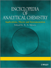 thumbnail image: Encyclopedia of Analytical Chemistry Applications Theory and Instrumentation Supplementary Volumes S1 - S3