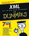 XML All-in-One Desk Reference For Dummies (0764516531) cover image