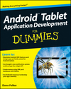 Android Tablet Application Development For Dummies (1118096231) cover image