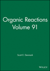 thumbnail image: Organic Reactions, Volume 91