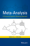 thumbnail image: Meta-Analysis: A Structural Equation Modeling Approach