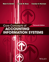 Core Concepts of Accounting Information Systems, 13th Edition (EHEP003231) cover image