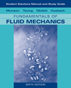 Student Solutions Manual and Student Study Guide to Fundamentals of Fluid Mechanics, 6th Edition (0470088532) cover image