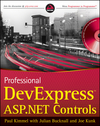 Professional DevExpress ASP.NET Controls (0470500832) cover image