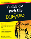 Building a Web Site For Dummies, 4th Edition (0470560932) cover image