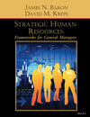 Strategic Human Resources: Frameworks for General Managers (0471072532) cover image