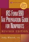 IRS Form 990: Tax Preparation Guide for Nonprofits, Revised Edition (0471448532) cover image