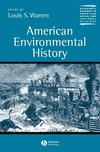 American Environmental History (0631228632) cover image