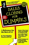 Sales Closing For Dummies (0764550632) cover image